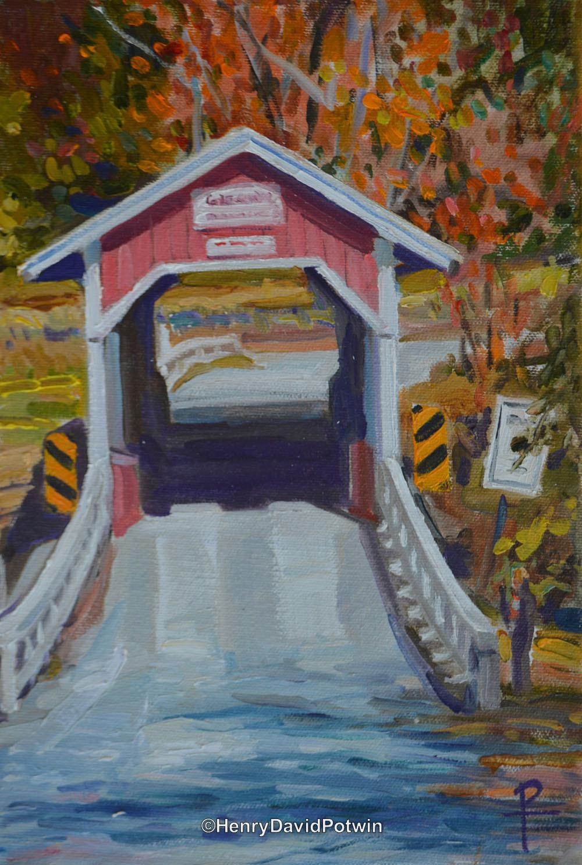 "Glessner Bridge - 2015 12X8"""