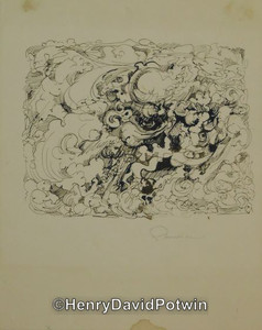 Untitled (Clouds) - 1970-80 10X8""
