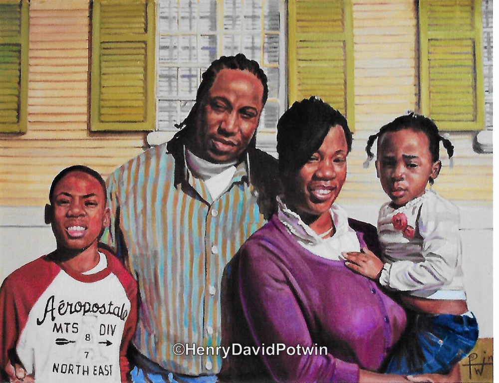 Family Portrait - 2012 16X22""