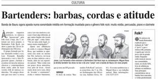Show Em Bauru - Miguel Rosa e Bartenders, hoje Old Folks