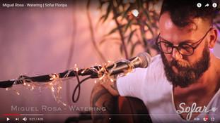 Miguel Rosa no Sofar Sounds