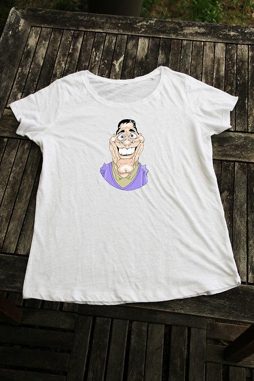 Tee shirt caricature couleur pour lui