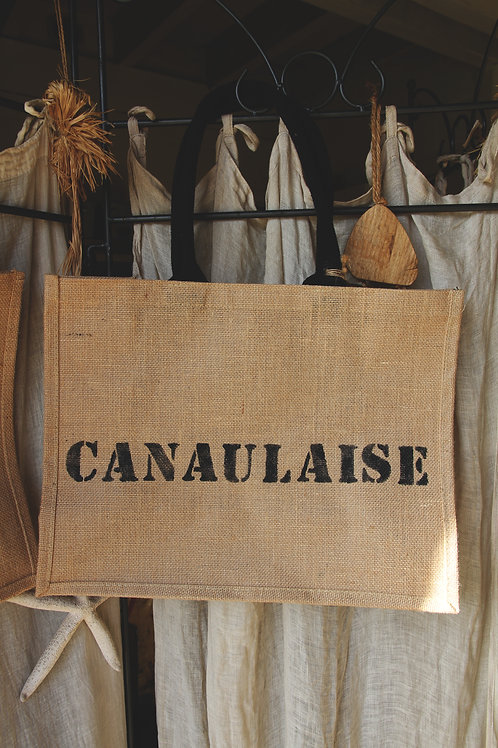 CANAULAISE cabas jute