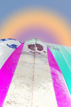 surf arc en ciel