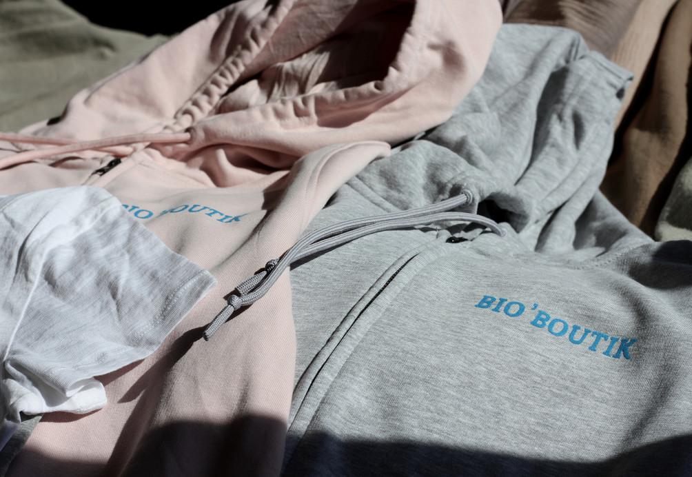Sweat shirts bio marquage