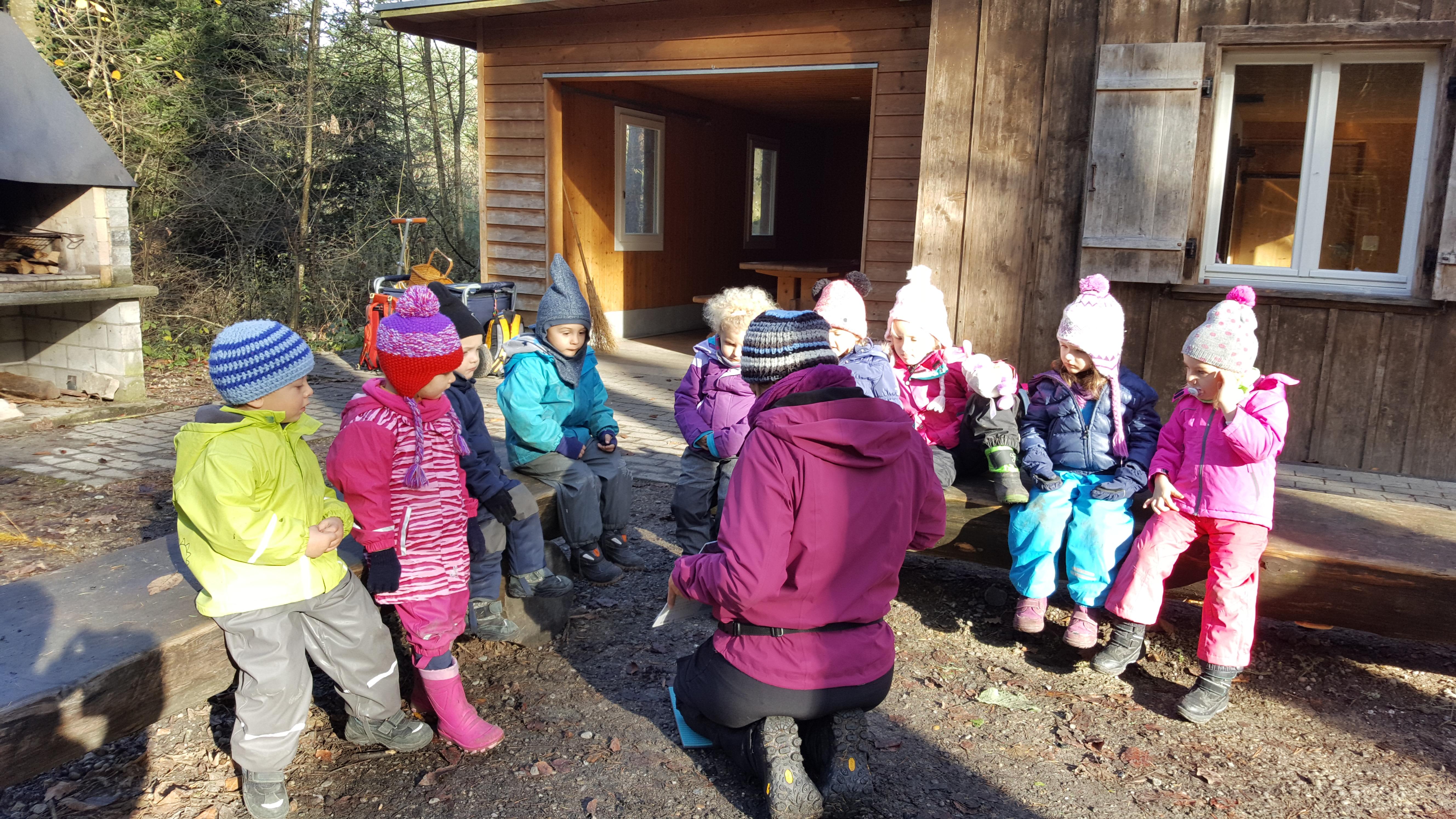 Geschichte vor der Bürgerhütte
