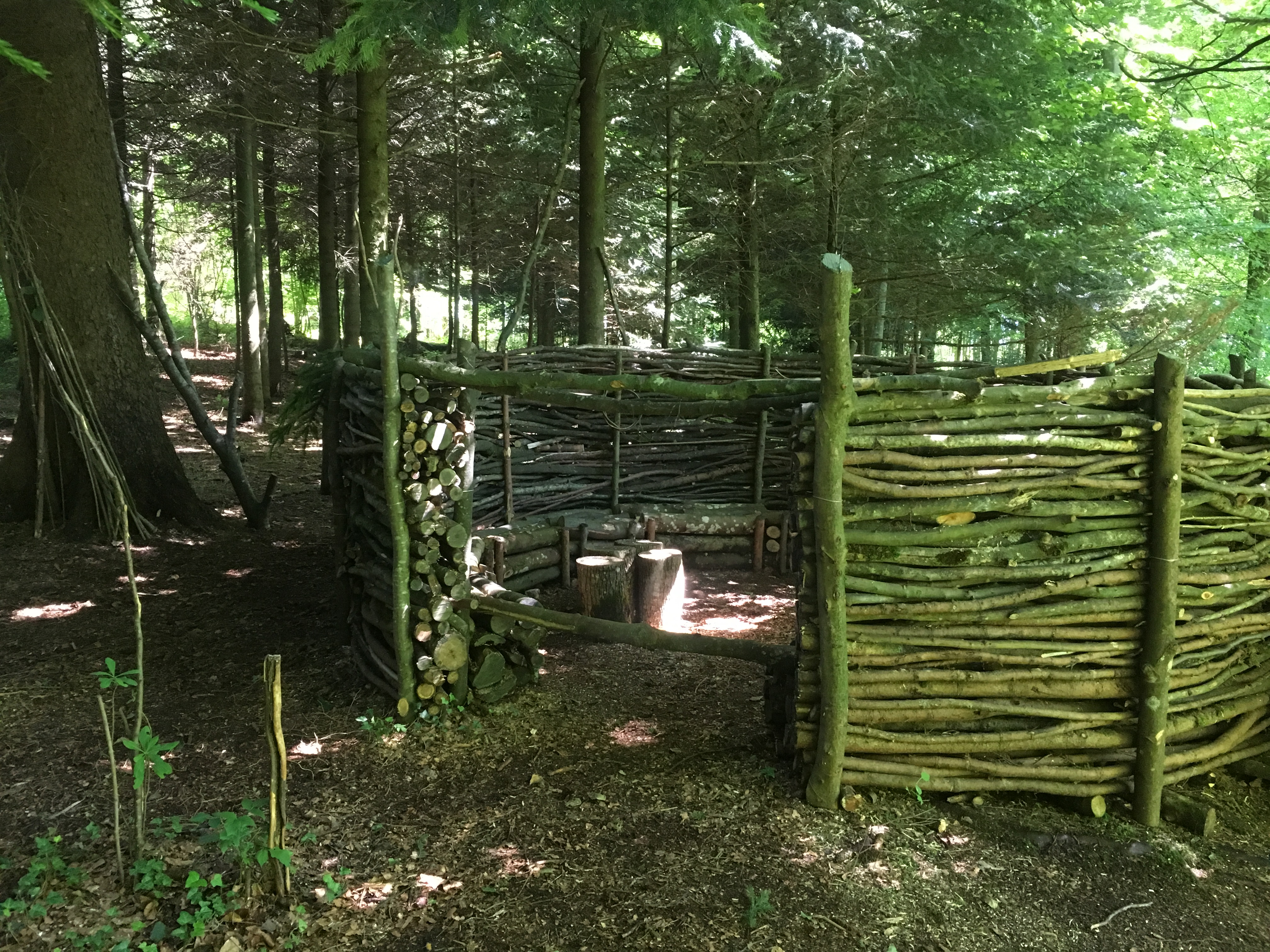 das Waldsofa ist soweit fertig