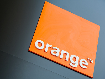 Orange sign