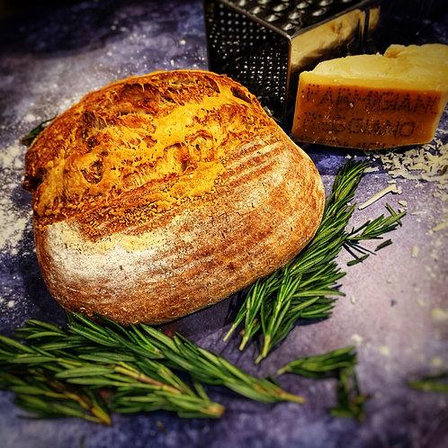 Pane con Parmigiano e Rosmarino