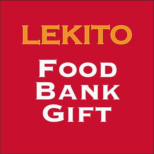 Food Bank Gift