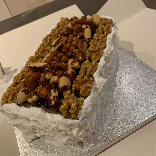 Half Size Luxury Christmas Cake