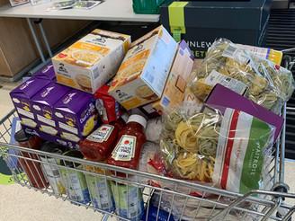 Food Bank Gift - we're helping