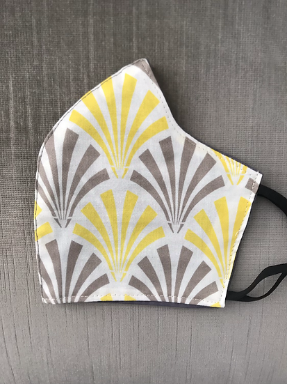 Yellow and Gray Fans ($8-$12)