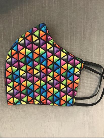 Bright Triangles Black ($8 - $12)