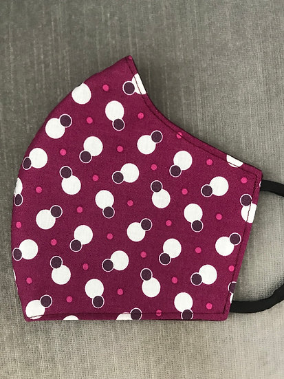 Moda Colorful Dots Berry ($8 - $12)