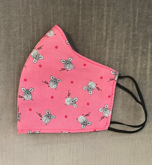Gray Mouse with Pink Polka dots ($8 - $12)
