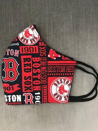 Boston Red Sox - Red Print