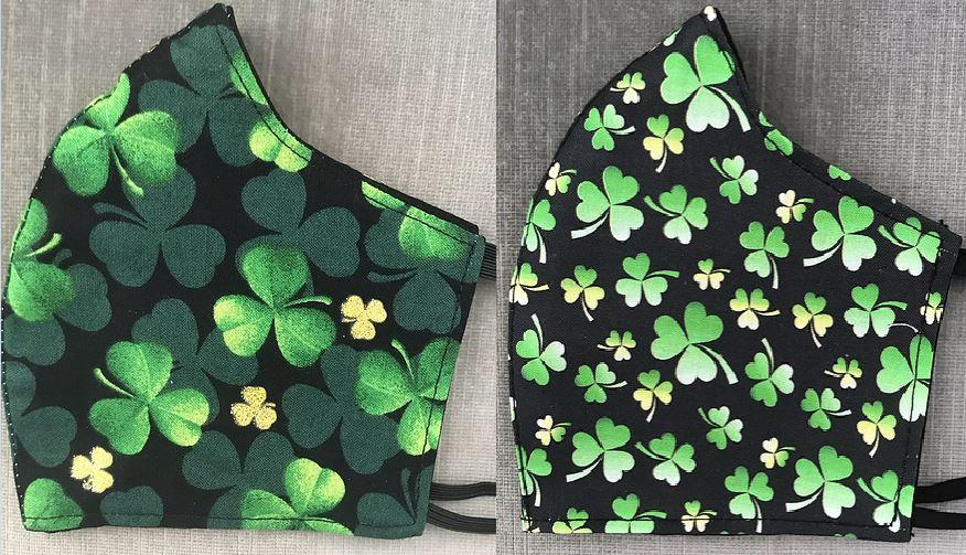St. Patrick's Day Masks ($8 - $12)
