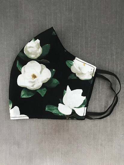 Magnolias on Black ($10 - $12)
