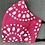 Thumbnail: Pink or Aqua Batik Print ($8 - $12)