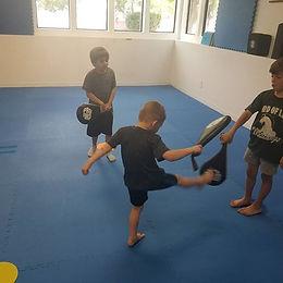 Last day of karate camp!_Still plenty of