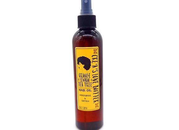 Orange, Lemon, & Tea Tree Hair Oil