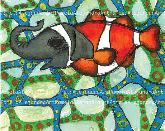 Elephant Clownfish
