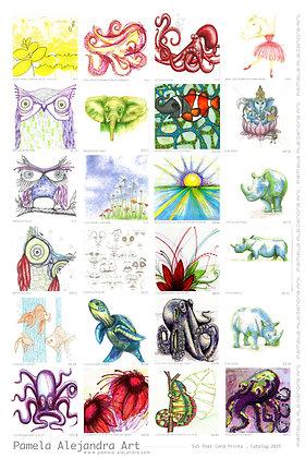Healing Love Art Cards