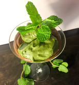 Raw Chocolate Mousse Green Tea Ice Cream