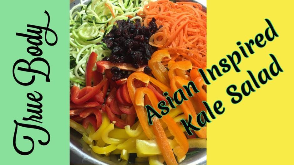 Asian Inspired Kale Salad