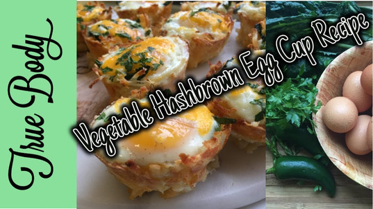 Vegetable Hashbrown Egg Cup Recipe