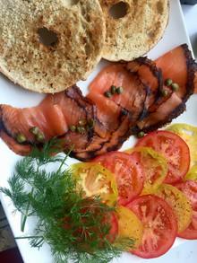 Quick Salmon Brunch Platter