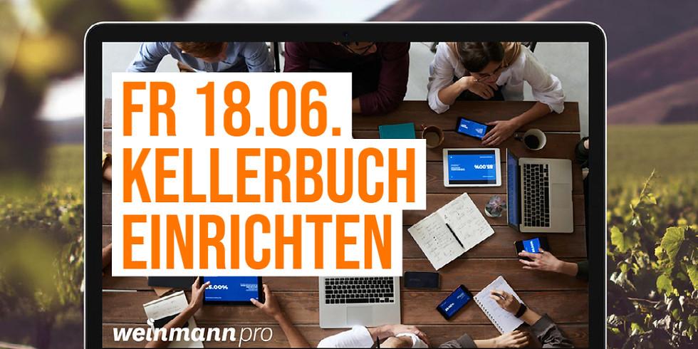 13:00 Uhr - 14:00 Uhr Kellerbuch erstellen in Weinmann pro (29,00 €)