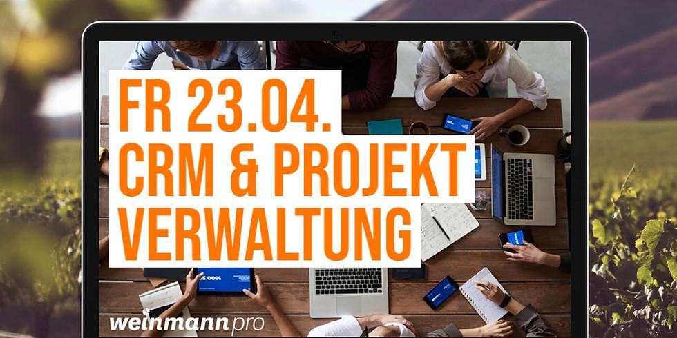13:00 Uhr - 14:00 Uhr CRM und Projektverwaltung in Weinmann pro (29,00 €)