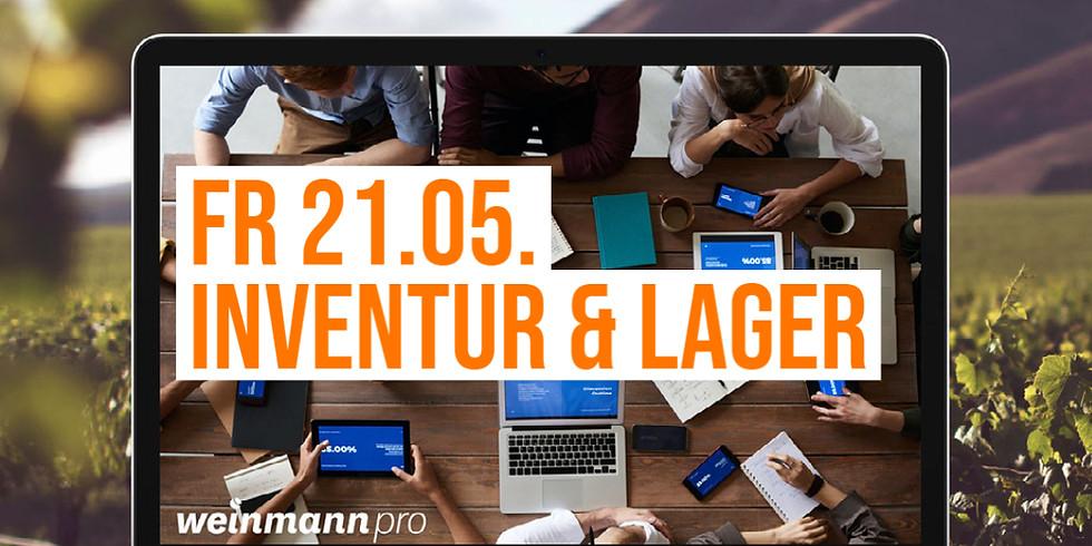 13:00 Uhr - 14:00 Uhr Inventur & Lager in Weinmann pro (29,00 €)