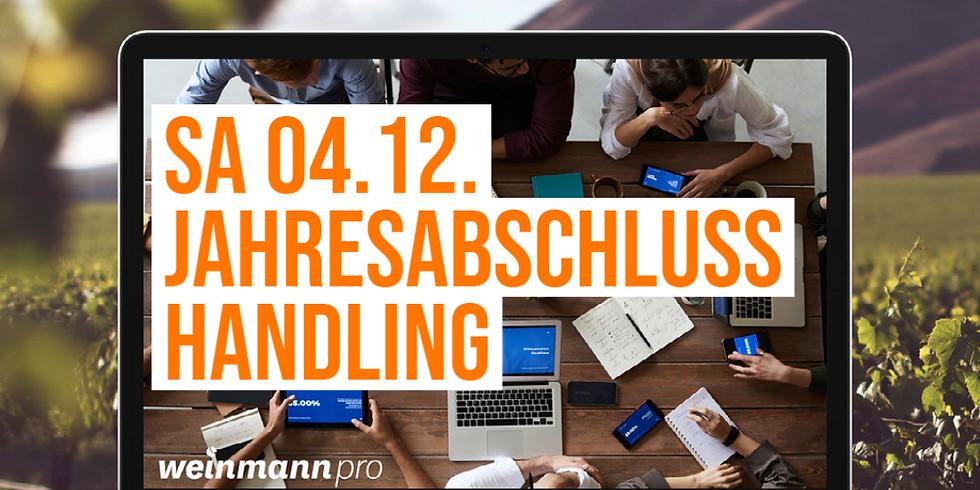 13:00 Uhr - 14:00 Uhr Jahresabschluss Basics in Weinmann pro (29,00 €)