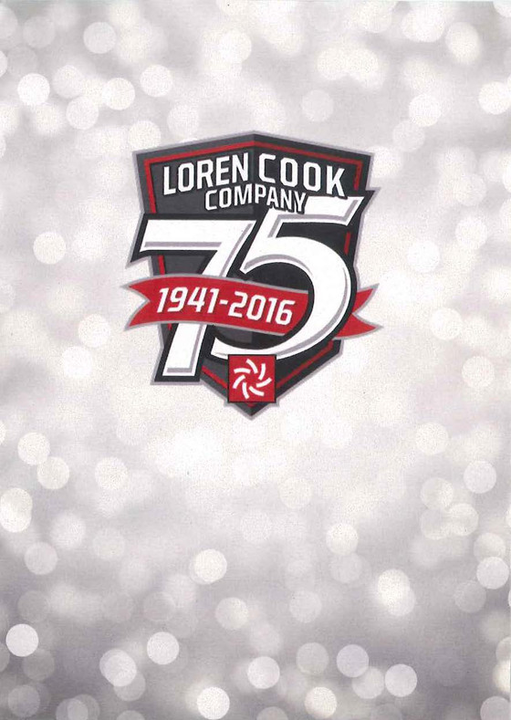 Loren Cook's 75th Anniversary Celebration