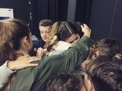 Rep Company Hugs with Katherine