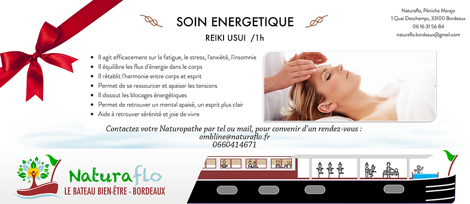 Bon Cadeau - Naturaflo Soin energetique.