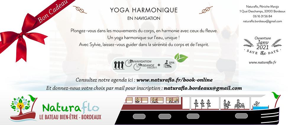 Bon Cadeau - Naturaflo - Yoga NAVIGATION