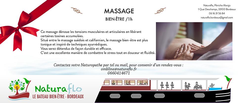 Bon Cadeau - Naturaflo Soin Massage bien