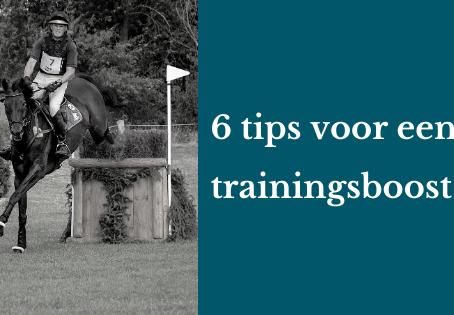 6 tips voor een trainingsboost!