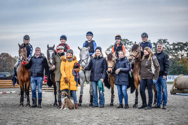 Team challenge 2019 winnaars pony's; Crazy Ponies; EventingHQ; ESVEO Fotografie