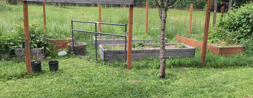 Raised beds for smart crop rotation
