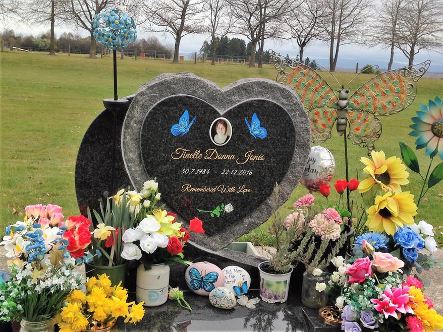 Headstone - Jones