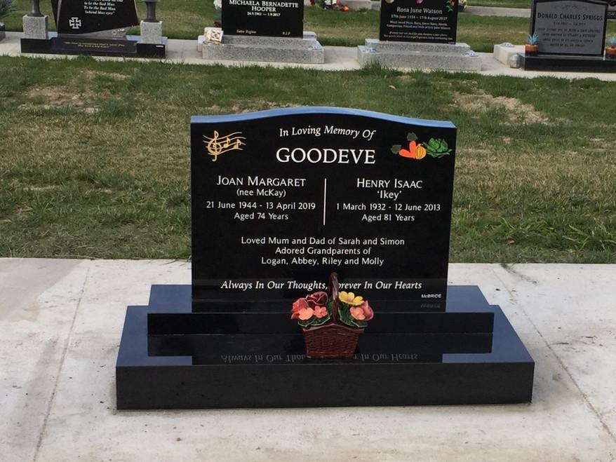 Headstone - Goodeve