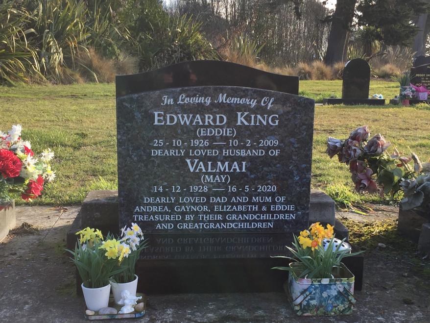 Headstone - King