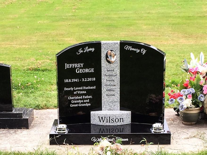 Headstone - Wilson