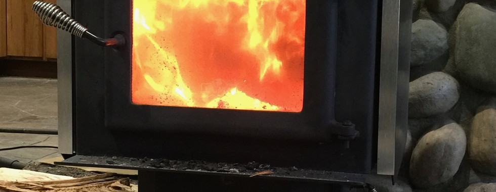 Off the grid heating & cooking