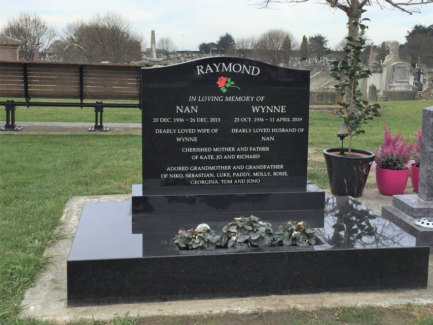 Headstone - Raymond
